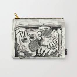 The Shaping of a Man Carry-All Pouch