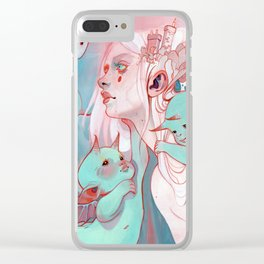 Scatterling Clear iPhone Case