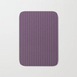 Purple stripes Bath Mat