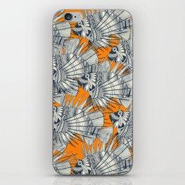 fish mirage turmeric iPhone Skin