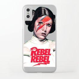 Princess Rebel Clear iPhone Case