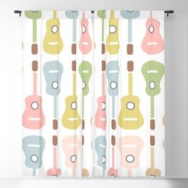 Guitar Obsession Blackout Curtain