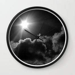 in transit Wall Clock