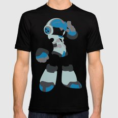 Mighty No. 9 Mens Fitted Tee SMALL Black