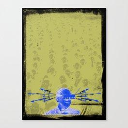 SHOCK VISOR Canvas Print