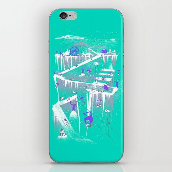Penguins (flat, palette swap) iPhone & iPod Skin