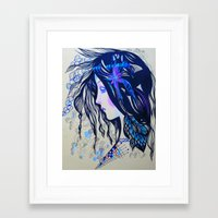 ruben Framed Art Prints featuring Ruben by  Alexandra's Collection