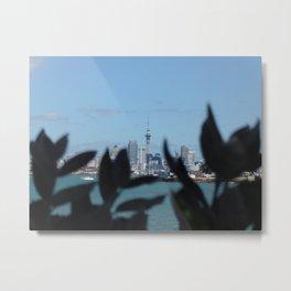 Nature Vs Skytower Metal Print