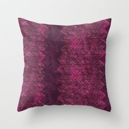 Painted Chevron Throw Pillow