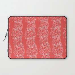 branches red graphic nordic minimal retro stripes Laptop Sleeve