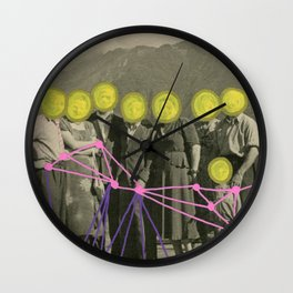 Get Right To The Point Wall Clock