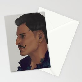 dorian peacock Stationery Cards
