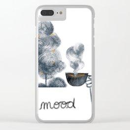 Spiritual mood Clear iPhone Case