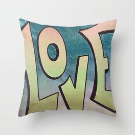 Hope Spray Paint 10 Throw Pillow