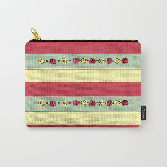 A Rosey Outlook Carry-All Pouch