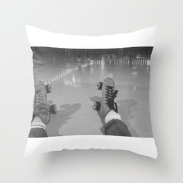Skate to Oregon Throw Pillow