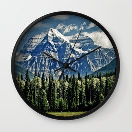 The View of Immense Freedom Wall Clock