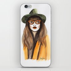 You can leave your hat on iPhone & iPod Skin