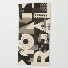 MONTREAL Beach Towel