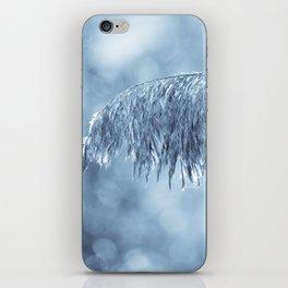 Winter leaf iPhone Skin