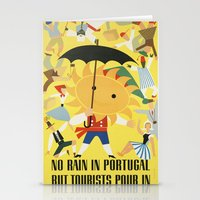 portugal Stationery Cards featuring Portugal by Kathead Tarot/David Rivera