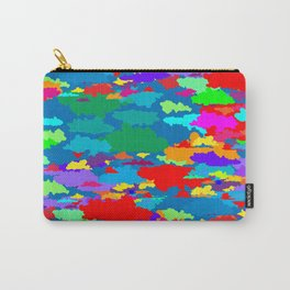 Neon Clouds Carry-All Pouch