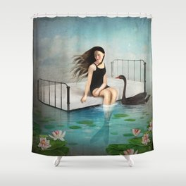 Kay's Dream Shower Curtain