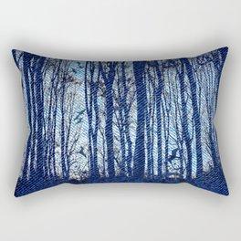 Denim Designs Winter Woods Rectangular Pillow