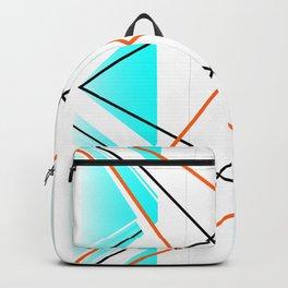 Bay - geometric abstract art Backpack