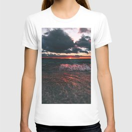 when the sun goes down T-shirt