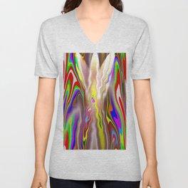 color curves Unisex V-Neck