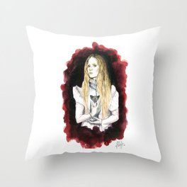 Love Makes Monster of Us All Throw Pillow