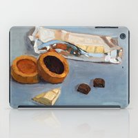 bar iPad Cases featuring Chocolate bar by Jos Eertink