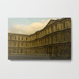 Palais du Louvre Metal Print