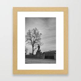 Krumlov II Framed Art Print