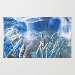 Ice cave Rug