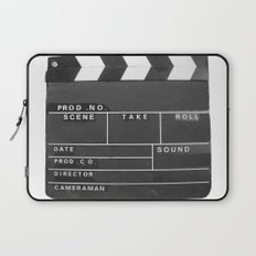 Film Movie Video production Clapper board Laptop Sleeve