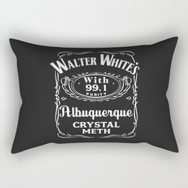 Walter White Pure Crystal Meth. Rectangular Pillow
