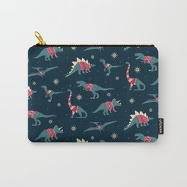 Dinos In Sweaters Carry-All Pouch