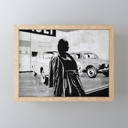 La Petit Soldat Framed Mini Art Print