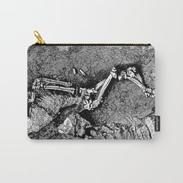 Remains of Prehistoric Man Carry-All Pouch