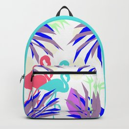 Flamingo Jungle Blues Backpack