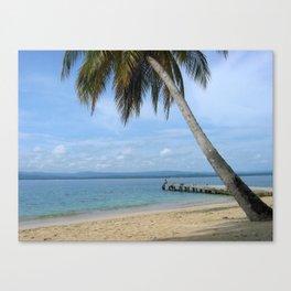 Isle of San Blas PANAMA - the Caribbeans Canvas Print