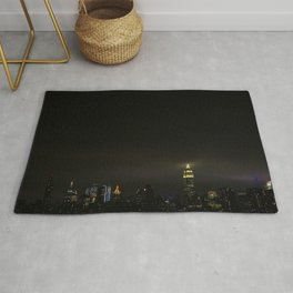 Empire State at Night, A Rug