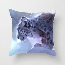 Winter stories Throw Pillow