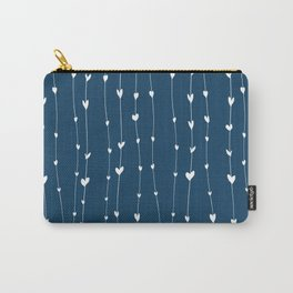 Handwriting Hearts IV Carry-All Pouch