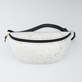 Los Angeles Nights Gold Paint Fanny Pack