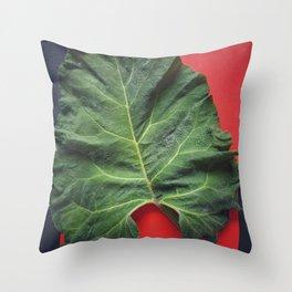 Burdock sheet Throw Pillow