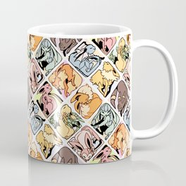 Eeveelution Mosaic Coffee Mug