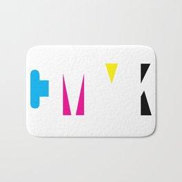 CMYK Bath Mat